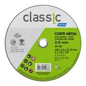 """Disco de Corte para Aço Carbono e Inox 9"""" 3,2mm 7/8"""" AR 302 NORTON"""