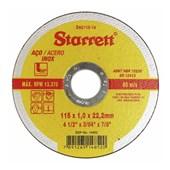 """Disco de Corte para Aço Inox 4.1/2"""" Dac115-14 Starrett"""