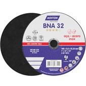 """Disco de Corte para Aço Inox 7"""" 3,0mm 7/8"""" BNA 32 NORTON"""