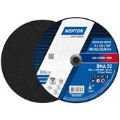 """Disco de Corte para Aço Inox 9"""" 3,0mm 7/8"""" BNA 32 NORTON"""
