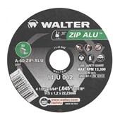 """Disco de Corte para Alumínio 4.1/2"""" 1.2mm 13300rpm 11-U 042 WALTER"""