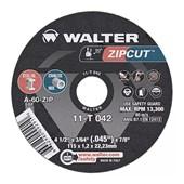 """Disco de Corte para Ferro e Aço Inox 4.1/2"""" 1.2mm 13300rpm 11-T 042 WALTER"""