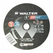 """Disco de Corte para Ferro e Aço Inox 7"""" 1.6mm 8600rpm 11-T 072 WALTER"""