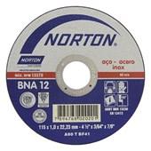 """Disco de Corte para Inox 4.1/2"""" x 1.0mm x 7/8"""" BNA12 EXTRA"""