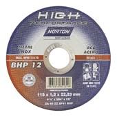 "Disco de Corte para Inox 4.1/2"" x 1.2mm x 7/8"" High Performace BHP12"