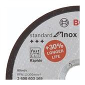 """Disco de Corte para Inox 4.1/2"""" x1mm x 7/8"""" 2608603169 Bosch"""
