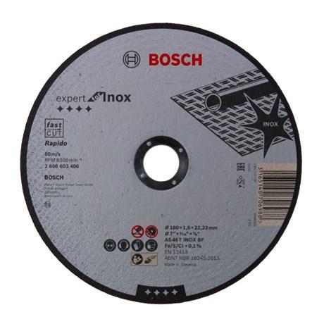 "Disco de Corte para Inox 7"" 1,6mm 8.500rpm EXPERT 2608603406 BOSCH"