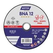 """Disco de Corte para Inox 7"""" x 1.6mm x 7/8"""" BNA12"""