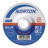 "Disco de Corte para Metal e Inox 4.1/2"" 0,8mm 7/8"" 115BDA08 NORTON"