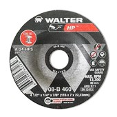 Disco de Desbaste 4.1/2'' X 1/4'' X 7/8'' HP 08B460 WALTER