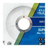 "Disco de Desbaste para Aço Carbono 4.1/2"" 5,0mm 7/8"" 115BDA50 NORTON"