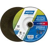 "Disco de Desbaste para Aço Carbono 4.1/2"" 6.4mm 7/8"" 115BDA640 NORTON"
