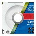 """Disco de Desbaste para Aço Inox 4.1/2"""" 5,0mm 7/8"""" 115BDA530 NORTON"""