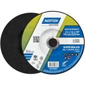 """Disco de Desbaste para Alumínio 4.1/2"""" 6,4mm 7/8"""" 115BDA620 NORTON"""