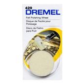 """Disco de Feltro 1"""" para Micro Retífica 2615000429 DREMEL"""