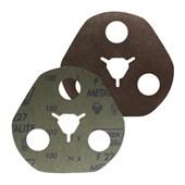 """Disco de Lixa AVOS para Ferro 4.1/2"""" 7/8"""" Grão 100 Metalite F 227 NORTON"""
