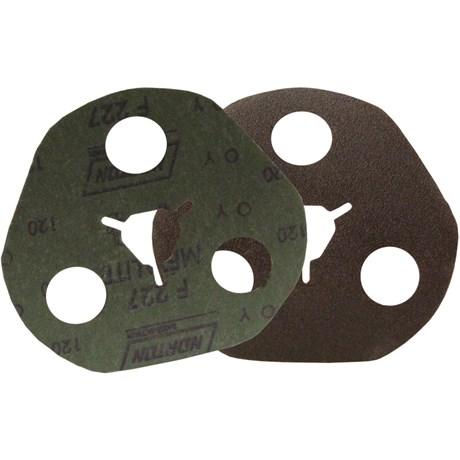 """Disco de Lixa AVOS para Ferro 4.1/2"""" 7/8"""" Grão 120 Metalite F 227 NORTON"""