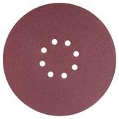 Disco de Lixa de Parede 225mm Grana 180 8 Furos 10 Unidades 12582250180 VONDER