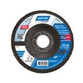 """Disco de Lixa Flap Disc 4.1/2"""" Grão 40 Fibra ORIGINAL R 822 NORTON"""