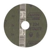 """Disco de Lixa para Aço 4.1/2"""" 7/8"""" Grão 24 F 224 NORTON"""
