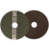 """Disco de Lixa para Aço 4.1/2"""" 7/8"""" Grão 50 Metalite F 227 NORTON"""