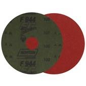 """Disco de Lixa para Metal 4.1/2"""" Grão 100 Fibra Seeded Gel F 944 NORTON"""
