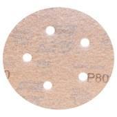 """Disco de Lixa para Repintura 5""""/127mm Grão 80 A 275 SPEED-GRIP NORTON"""