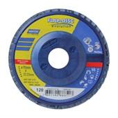Disco Flap 4.1/2'' Grão 120 R 822 PLASTICO NORTON
