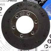 Disco Flap 4.1/2'' Grão 80 2608619290 BOSCH