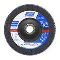 """Disco Flap 7"""" Grão 40 para Metal R 822 FIBRA NORTON"""