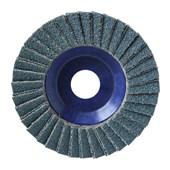 """Disco Flap Disc 4.1/2"""" gr 40 Plastico Norzon R 822"""