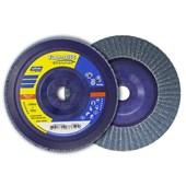 """Disco Flap Disc 4.1/2"""" gr 60 Plastico Norzon R 822 NORTON"""