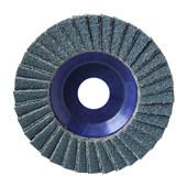 """Disco Flap Disc 4.1/2"""" gr 80 Plastico Norzon R 822"""