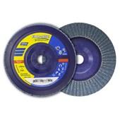 """Disco Flap Disc 4.1/2"""" gr 80 Plastico Norzon R 822 NORTON"""