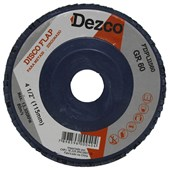 "Disco Flap Disc 4.1/2"" grao 60 Plastico FDPL11560"