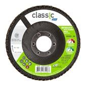 """Disco Flap para Metal 4.1/2"""" Grão 80 R 801 FIBRA CLASSIC NORTON"""