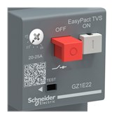Disjuntor 3P 1 - 1.6A Motor Termomagnético com Botão Impulsão Tesys GZ1E06 SCHNEIDER