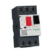Disjuntor 3P 1.6 - 2A Motor Termomagnético com Botão Impulsão Tesys GV2ME07 SCHNEIDER