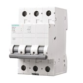 Disjuntor 3P 50A 3kA DIN Curva C com Alavanca Articulada 5SL1 350-7MB SIEMENS
