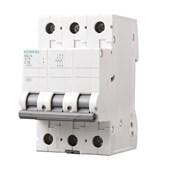 Disjuntor 3P 6A 3kA DIN Curva C com Alavanca Articulada 5SL1 306-7MB SIEMENS