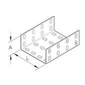 Eletrocalha Emenda Interna Perfurada 200x100mm Chapa n°18 PG 938065 CEMAR