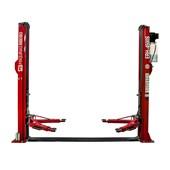 Elevador Automotivo Hidráulico Monofásico 220V 4500kg Trava Mecânica ERH4500S Vermelho