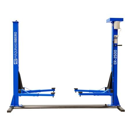 Elevador Automotivo Trifásico 2500kg Azul ER2500 Ribeiro