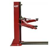 Elevador Hidraúlico Mono 4000kg Sem Rampa Erh 4000d Vermelho Ribeiro