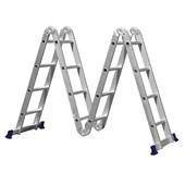 Escada Articulada 16 Degraus 4,45M com Plataforma MOR 05134