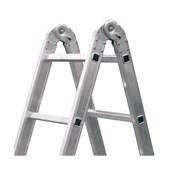 Escada de Alumínio Multifunção 10 Degraus 1.3m ESC0576 BOTAFOGO