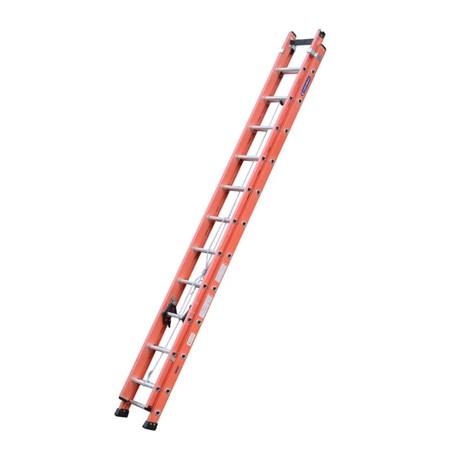 Escada de Fibra de Vidro Extensível 23 Degraus 4.25m EFV-23 COGUMELO