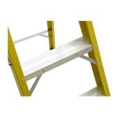 Escada de Fibra de Vidro Tesoura 6 Degraus 2.10 M RF-6