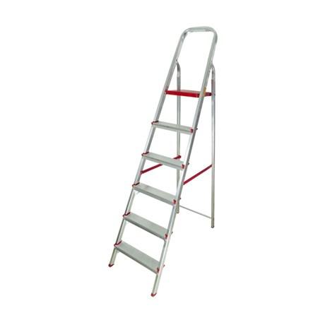 1133961d01 Escada Doméstica de Alumínio 6 Degraus 1