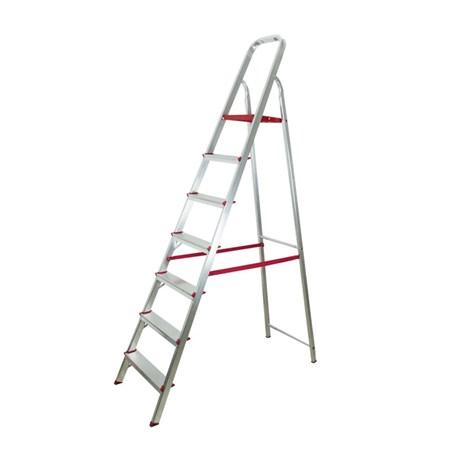 0cc6e47c27 Escada Doméstica de Alumínio 7 Degraus 2